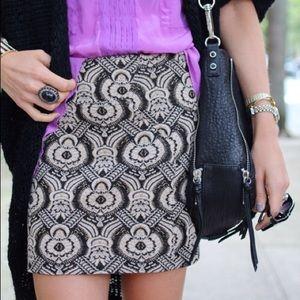 DVF Brocade Miniskirt